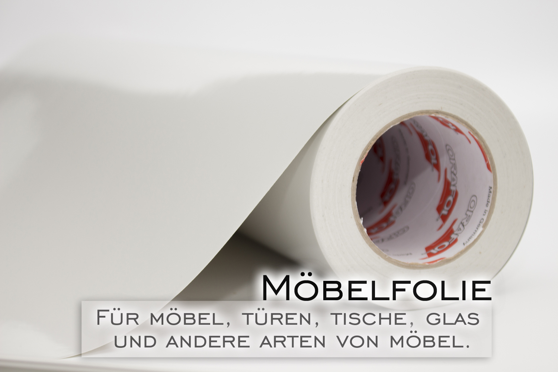 Klebefolie m belfolie hellgrau mausgrau gl nzend in 63cm for Klebefolie abwaschbar
